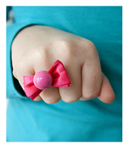 Bow Tie Rings