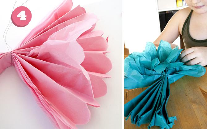 pyssel med silkespapper