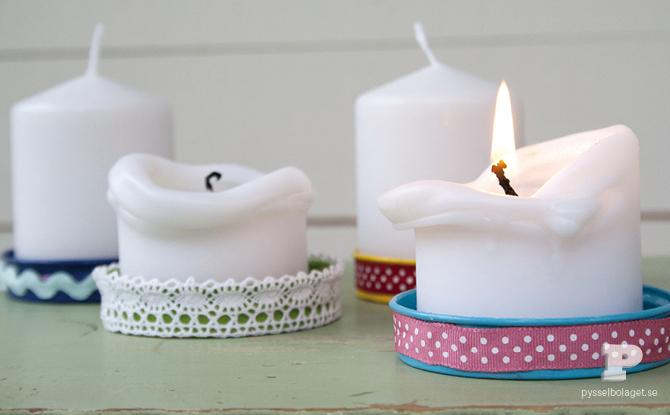 Ljusfat av lock Candle plates tempat wadah lilin cantik unik menarik