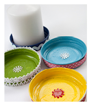 Candle plates