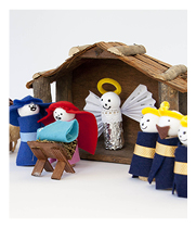 Lovely nativity scene