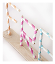 Paper straw craft