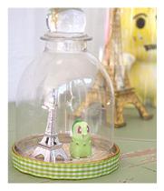 plastic bell jars