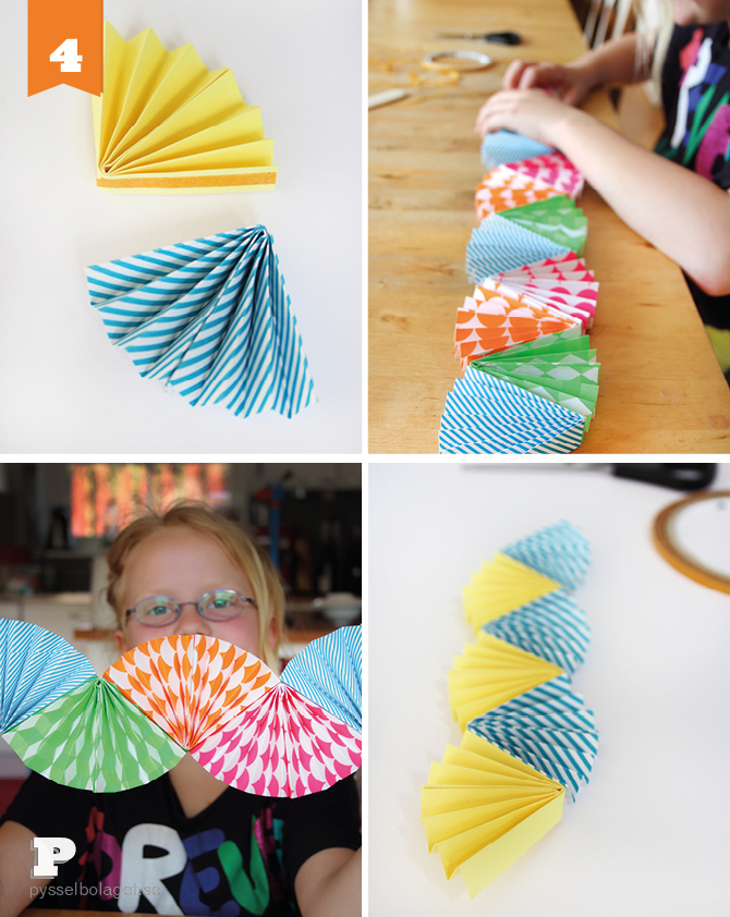 paper fan garland april PB 2014 6
