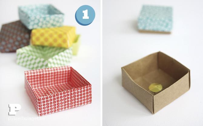 Origami advent calendar 3