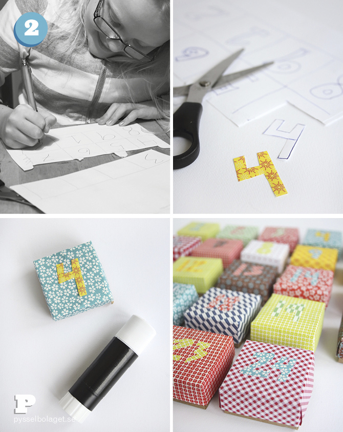 Origami advent calendar 4