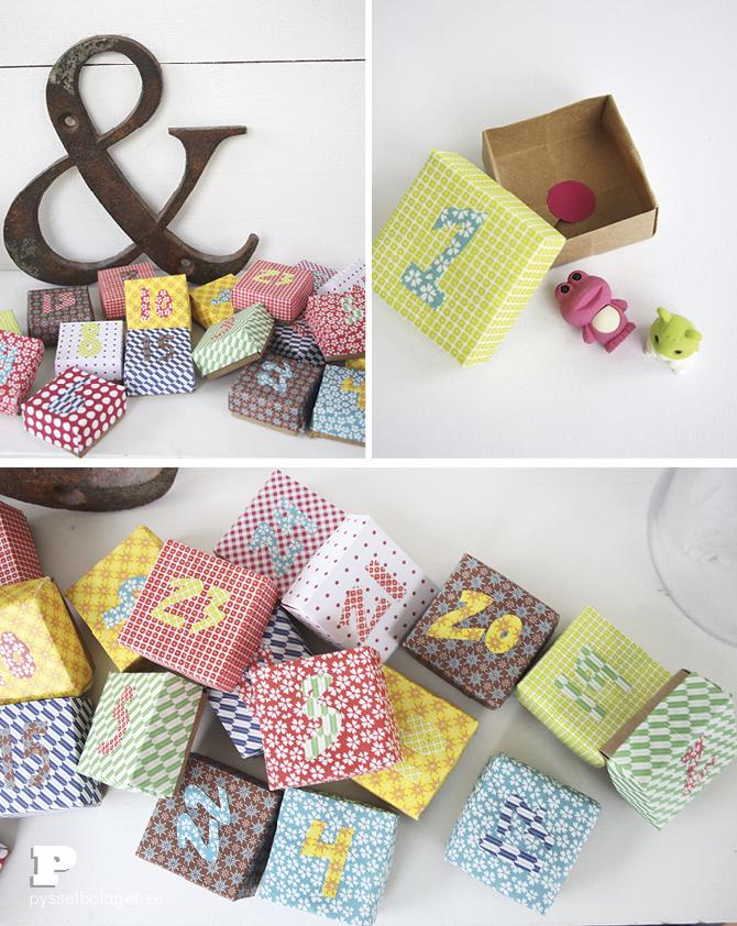 Origami advent calendar 5