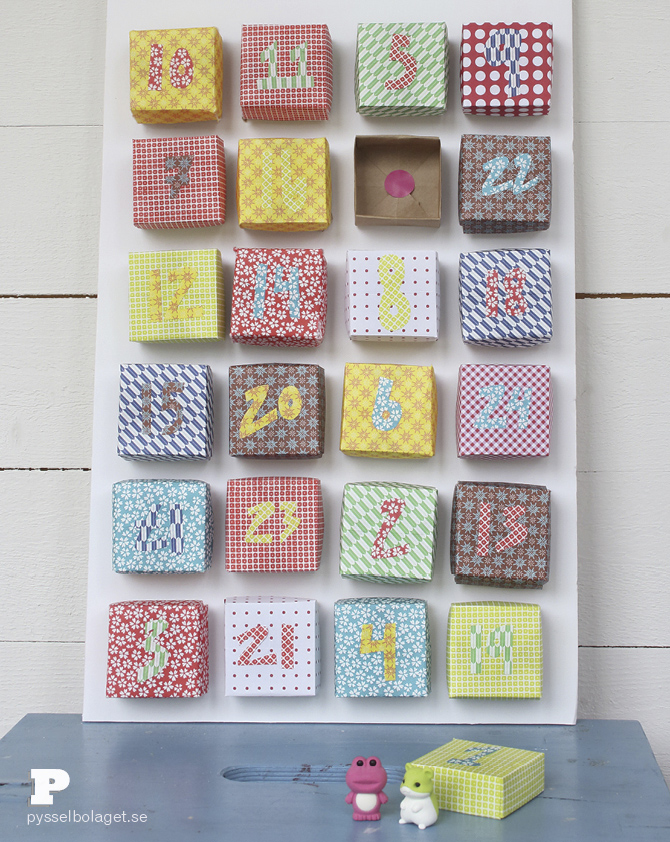 Origami advent calendar 7