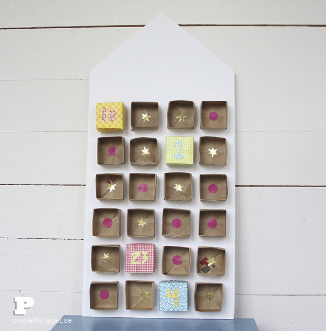 Origami advent calendar 9