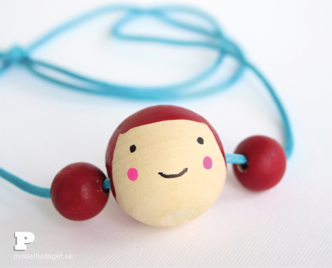 Doll face necklace6