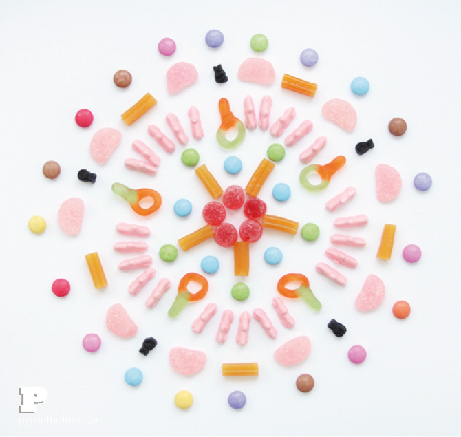 Candy mandala 6