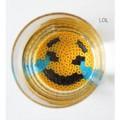 Emoji bead coasters