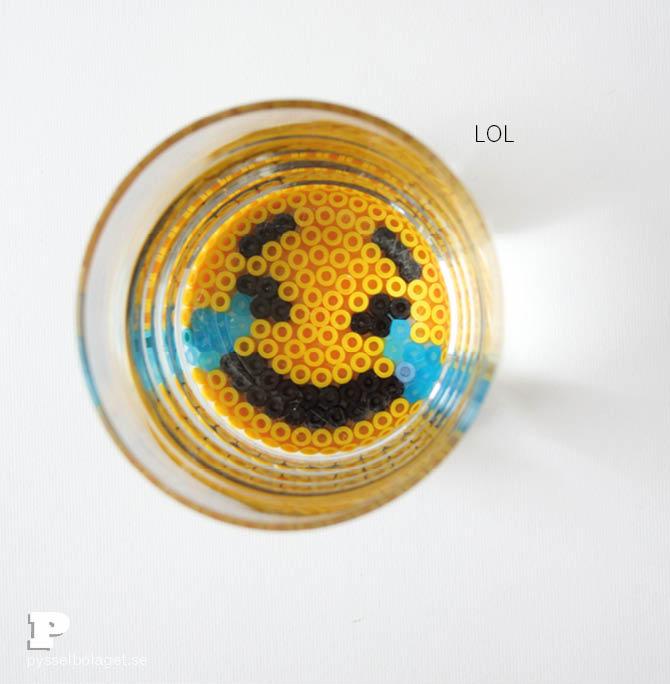 Emoji bead coasters 6