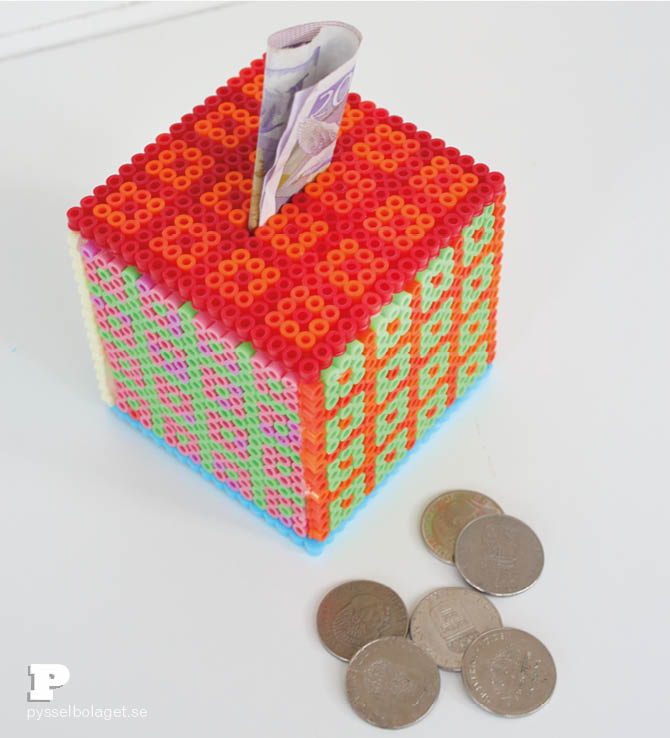 Hama bead Coin Bank 5