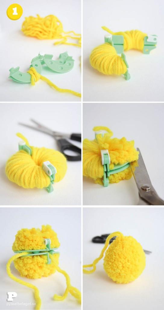 Pom Pom Easter Eggs 3