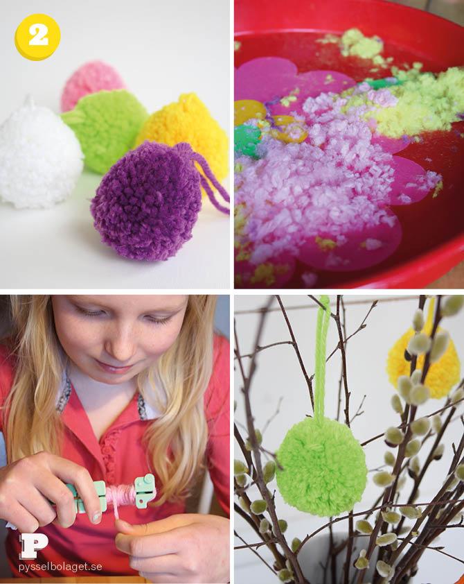 Pom Pom Easter Eggs 4