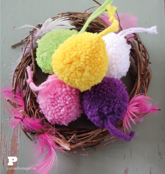 Pom Pom Easter Eggs 5
