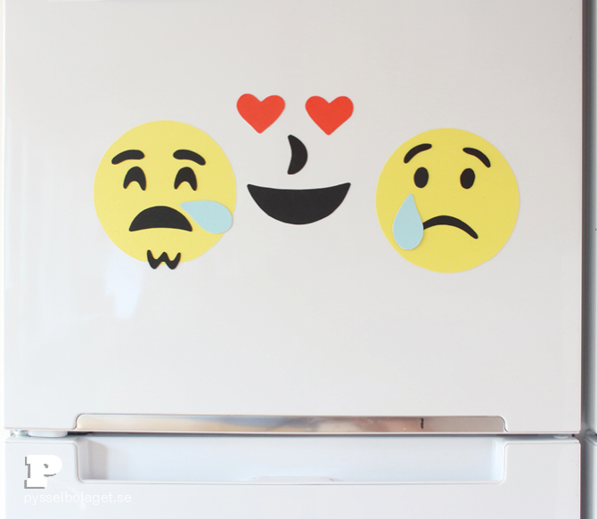 DIY Emoji magnets10
