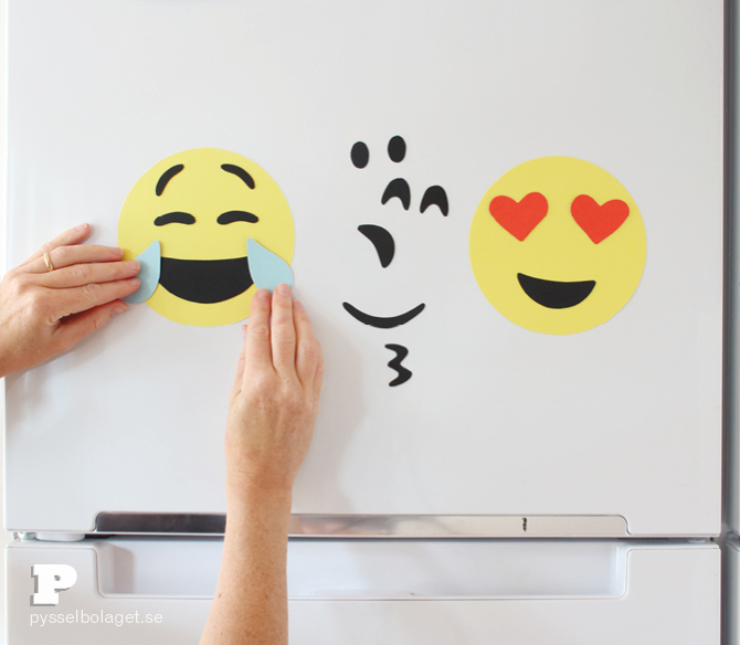 DIY Emoji magnets11