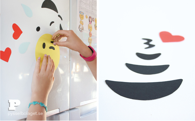 DIY Emoji magnets5