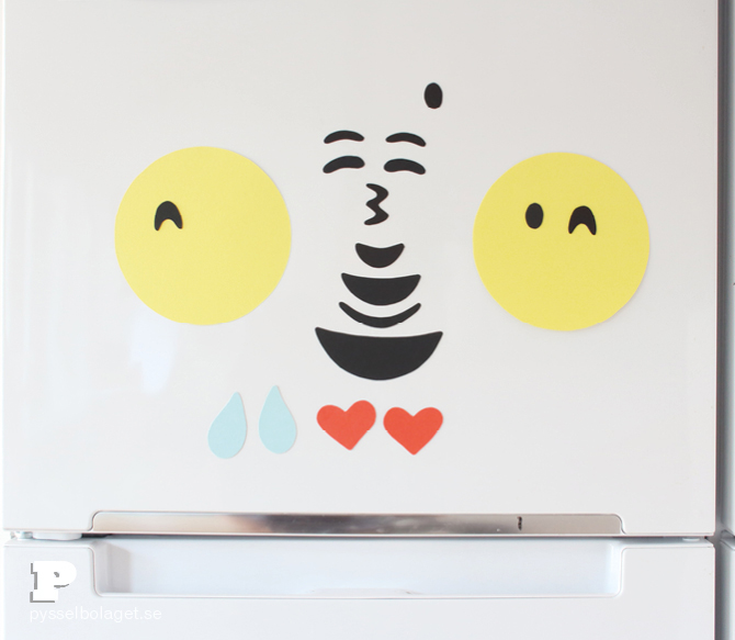 DIY Emoji magnets6