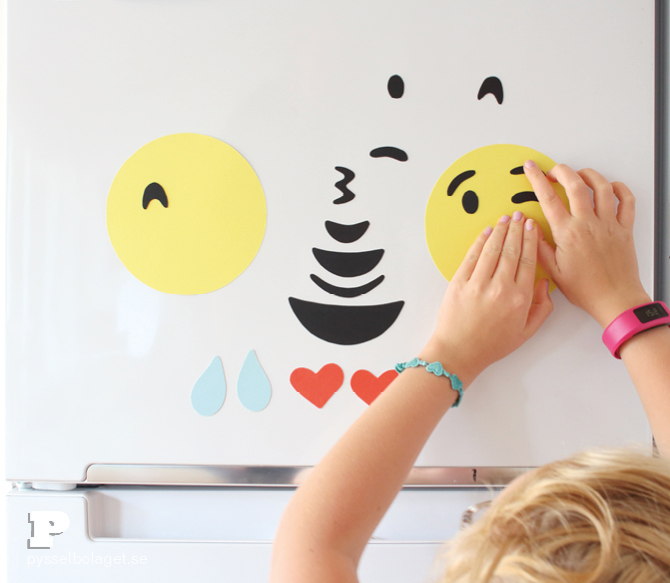 DIY Emoji magnets7