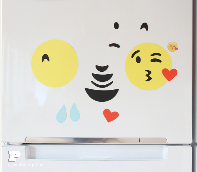 DIY Emoji magnets8