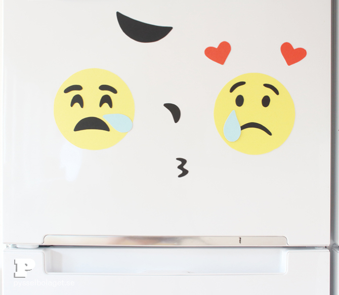 DIY Emoji magnets9