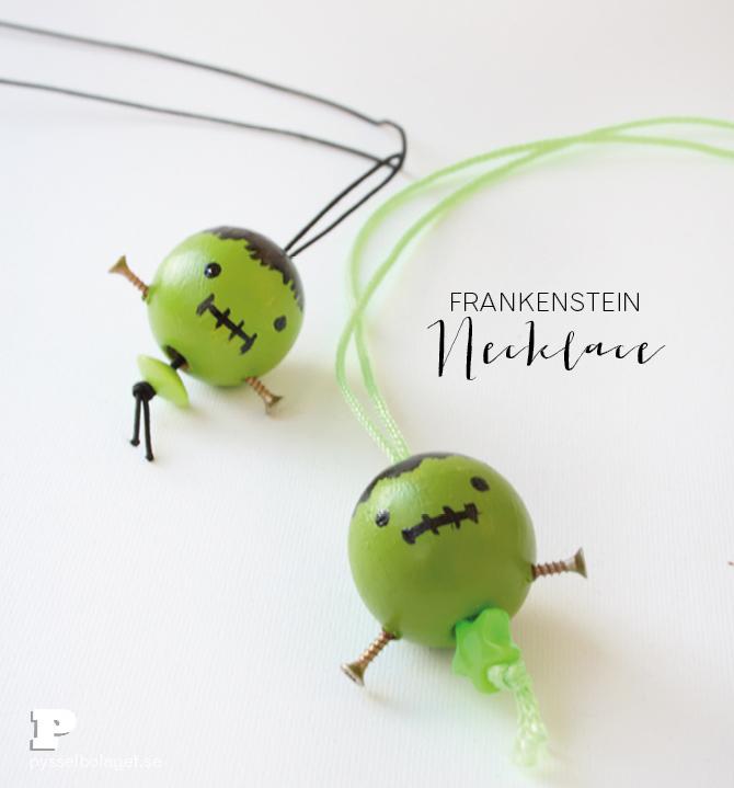 Frankenstein necklace