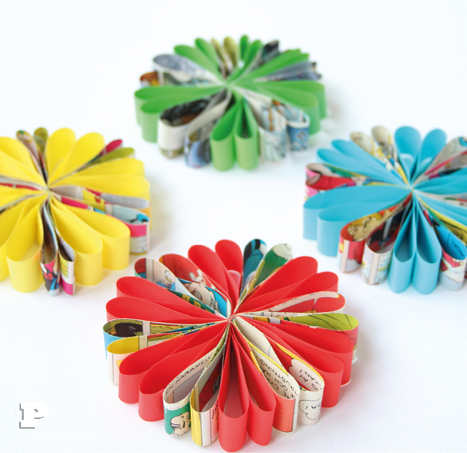 Paper flower ornaments5