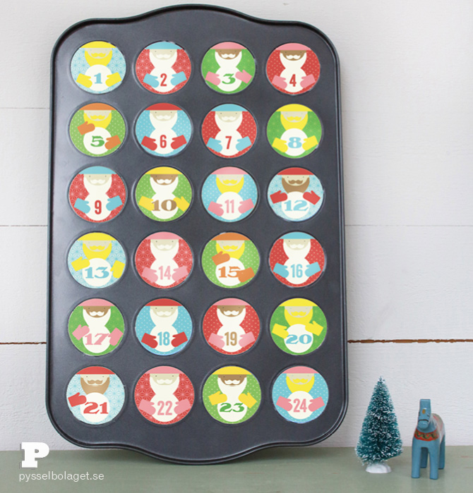 cupcake calendar 4