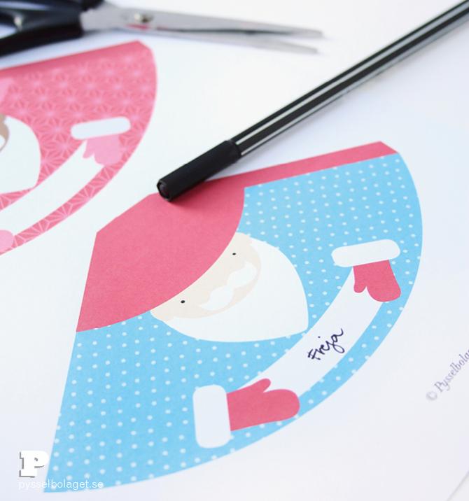Santa Place Cards 3