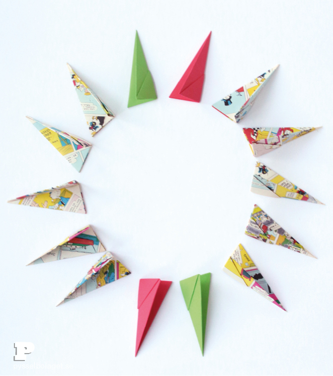 Origami paper stars3
