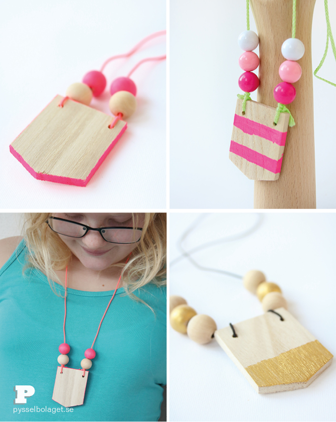 Wooden necklace6