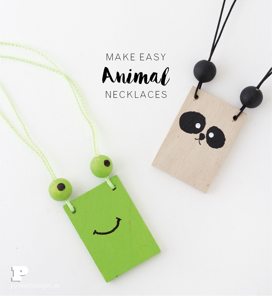 Animal neckalce