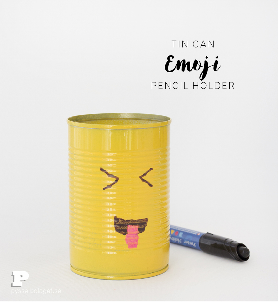Emoji pencil holder 1