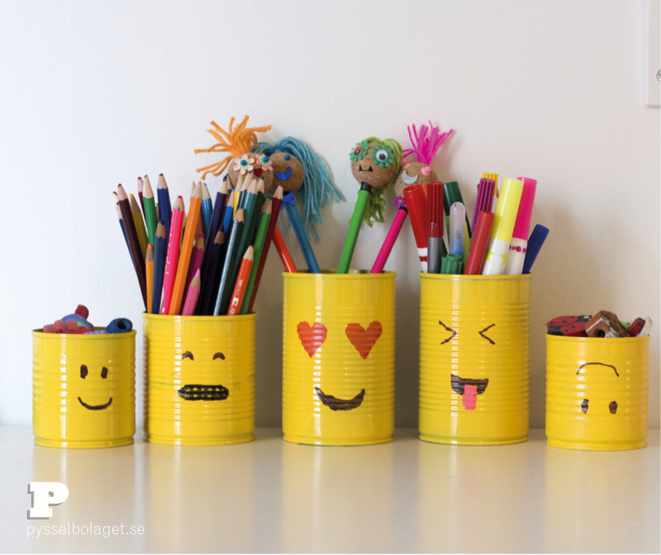 Emoji pencil holder 6