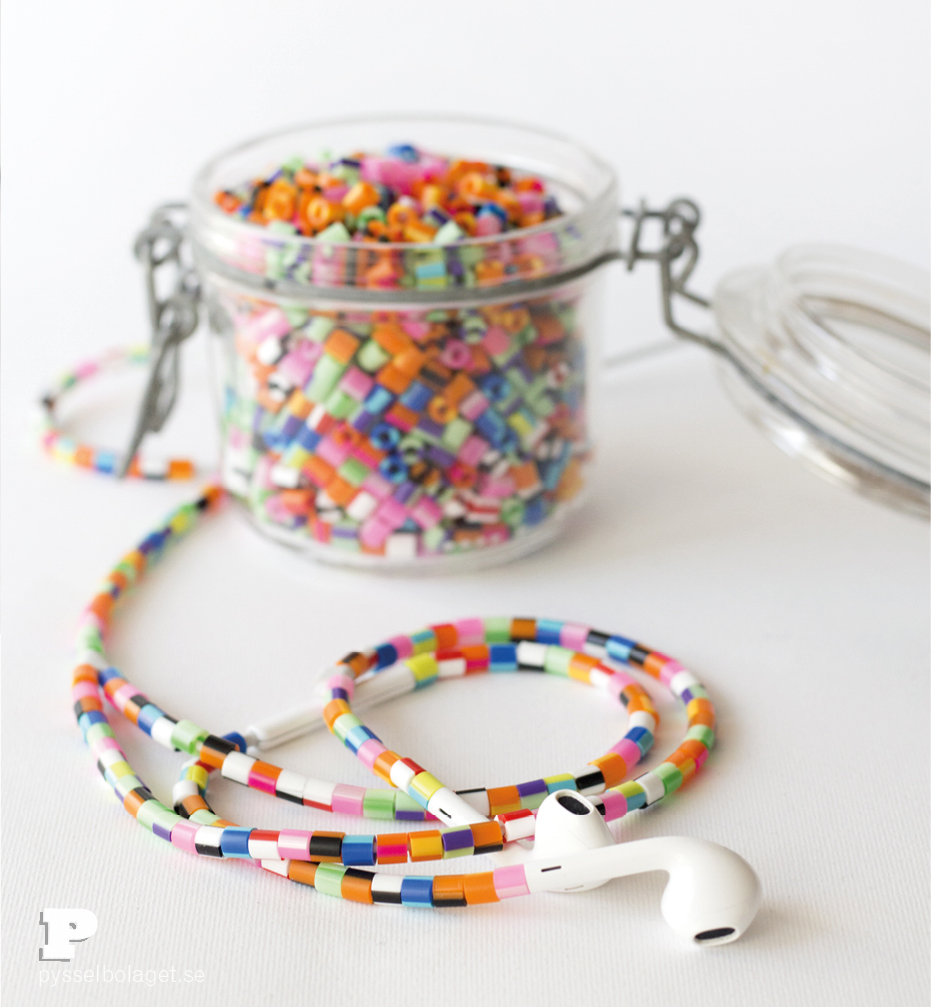 Beaded headphones3