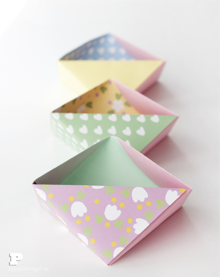Origami bowls9