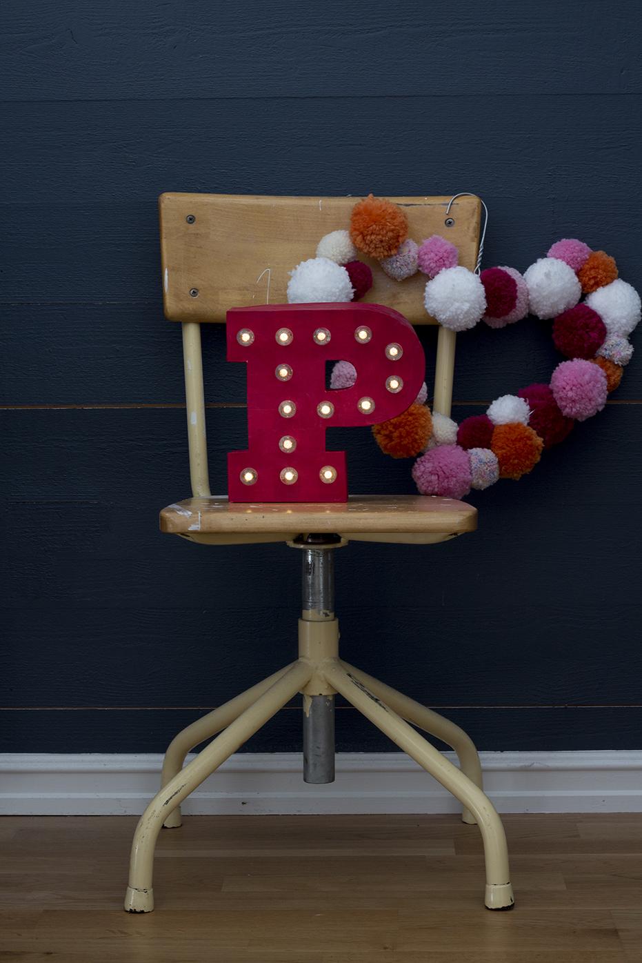 letter-lamp