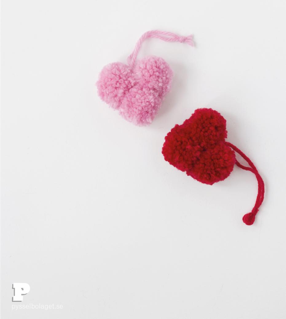 Pompom hearts 3