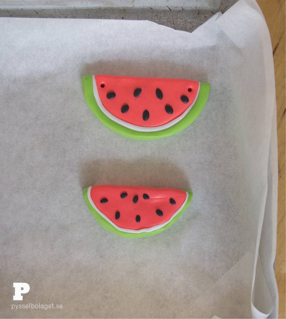 Watermelon pendants 4