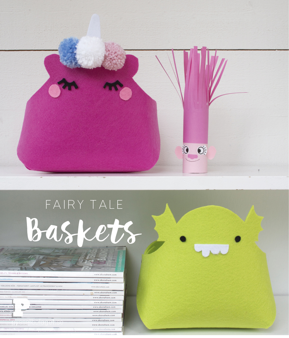 Fairy Tale Baskets by Pysselbolaget