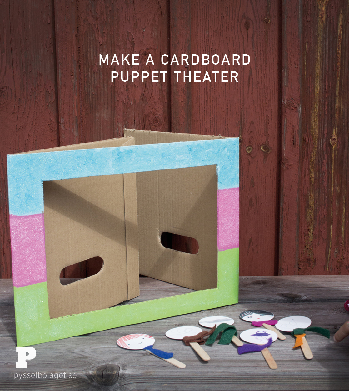 Cardboard Theater by Pysselbolaget