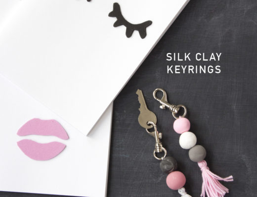 Silk Clay Keyrings