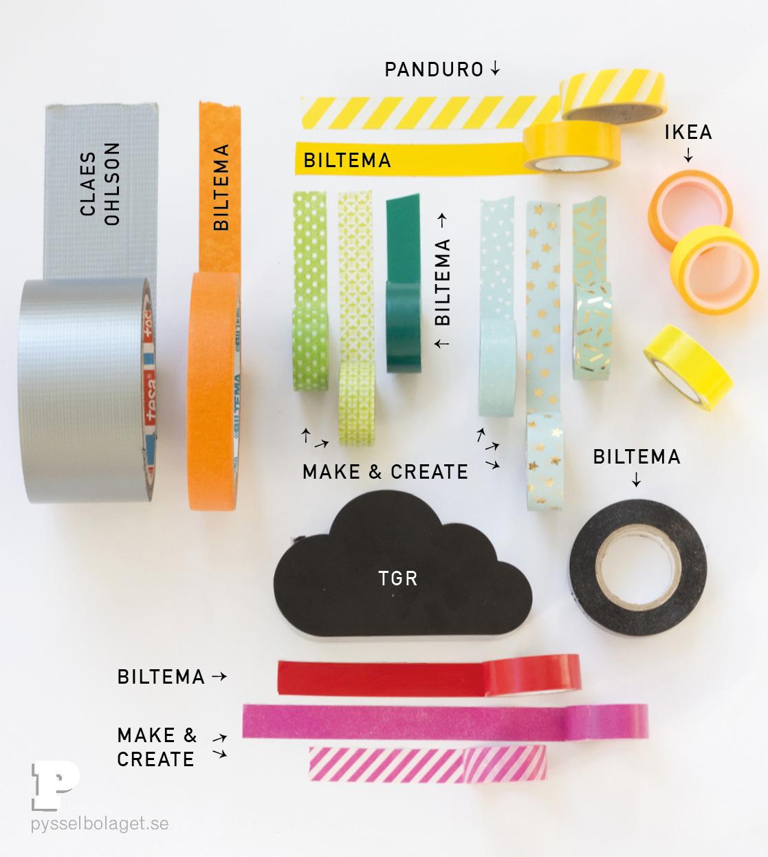 Crafts supplies Tape