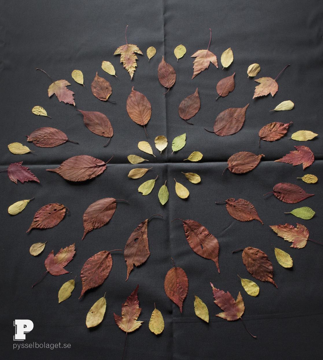 Leaf Mandala by Pysselbolaget