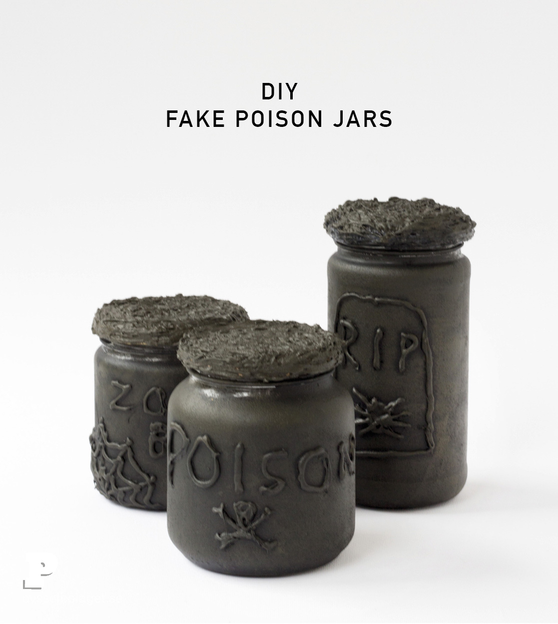 Fake Poison Jars by Pysselbolaget