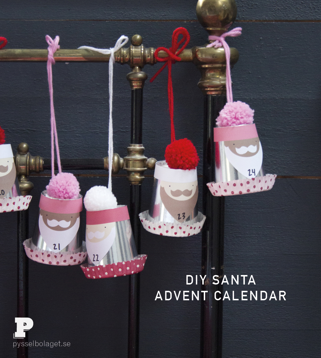 Santa Advent Calendar by Pysselbolaget