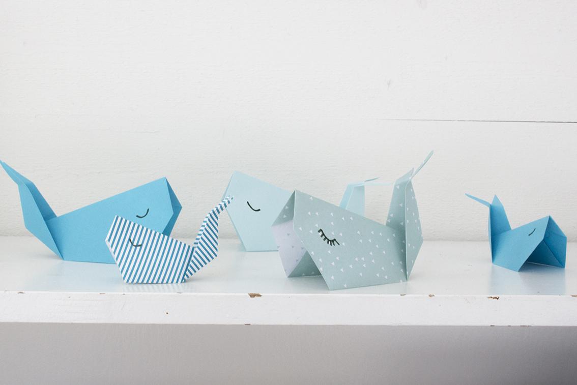 Enkel origami | Pysselbolaget